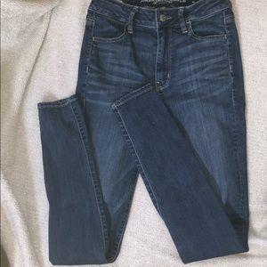 American Eagle Super Stretch Straight Cut Jeans